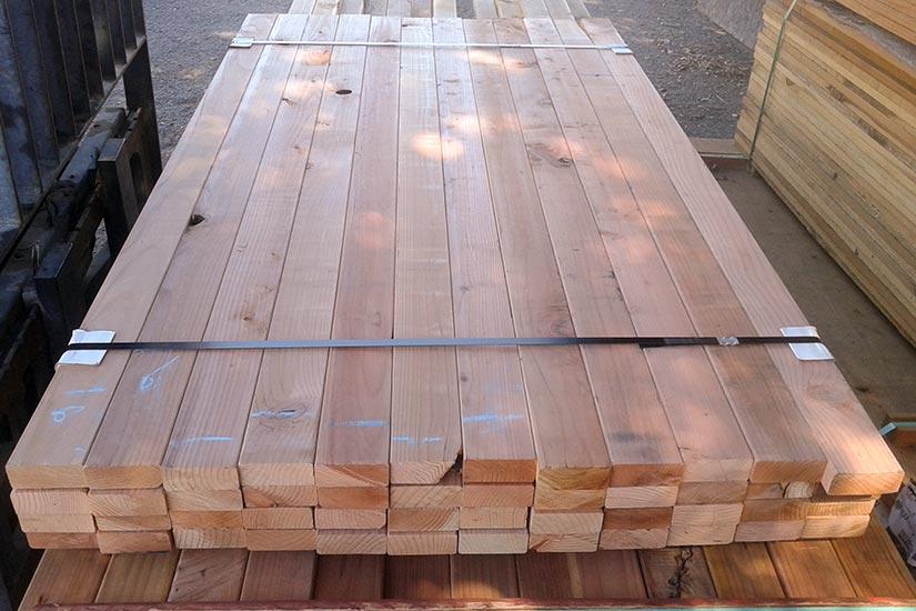 Redwood Lumber Decking Posts Boards Lattice