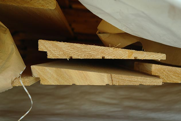 1x8 Bevel Lap Cedar #3 Common 39¢LF by the pallet